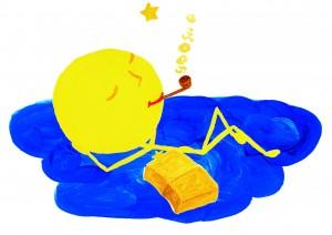 Gute-Nacht-Gedicht Mond