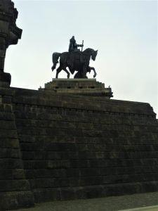 Kaiser Wilhelm Denkmal Standbild Deutsches Eck bei Drachenwolke Geschichten