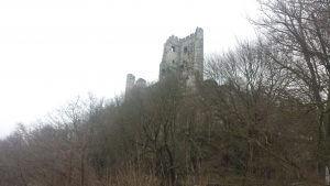 Drachenfels und Drachenburg am Rhein Geschichte Sage Drache Siegfried