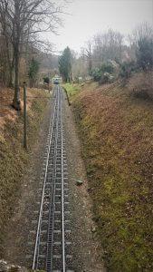 Drachenfelsbahn im Siebengebirge am Rhein