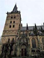 Dom Xanten bei entlang am Rhein