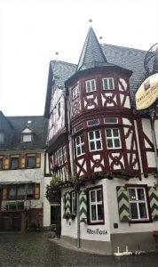 Altes Haus in Bacharach am Rhein bei Drachenwolke Geschichten