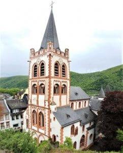Stiftskirche St. Peter in Bacharach bei Drachenwolke Geschichten