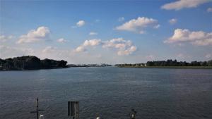 Drei Flüsse Eck Rhein bei Dordrecht bei Drachenwolke Geschichten