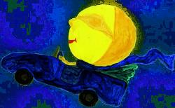 Gedicht Mond bei Drachenwolke Geschichten