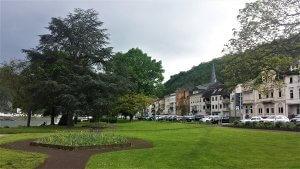 Promenade St. Goar am Rhein bei Drachenwolke Geschichten