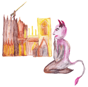 Sage vom Kölner Dom und dem Teufel bei Drachenwolke Geschichten