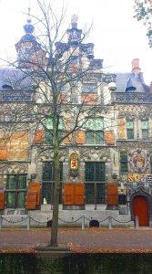 Goldenes Zeitalter Gouden eeuw in Delft am Rhein Schie Kanal