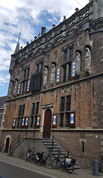 Das alte Rathaus im niederländischen Kampen