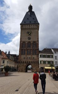 Stadttor Altpörtel in der Innenstadt von Speyer