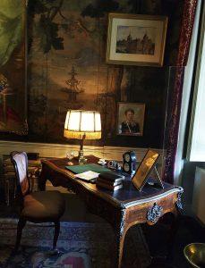 Arbeitszimmer Unterzeichnung Abstand Kaiser Wilhelm II vom Thron