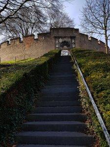 Burcht in Leiden am Rhein