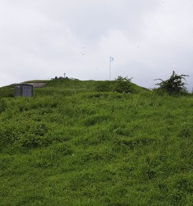 Ausflugstipp Fort Pannerden, versteckt unter dem Grün