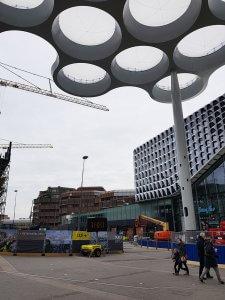 Bauplatz Utrecht bei Drachenwolke Geschichten und Infos rund um den Rhein