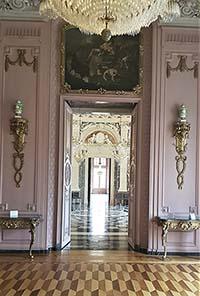 Prunksaal in Schloss Benrath bei Düsseldorf