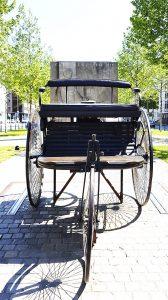 Quadratestadt Mannheim Carl-Benz-Denkmal
