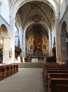 Hauptaltar des Münsters Konstanz