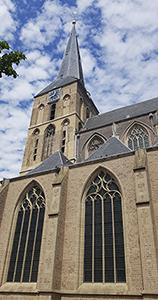 Bovenkerk von Kampen in den Niederlanden
