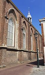 Broederkerk - eine der Kirchen von Kampen in den Niederlanden