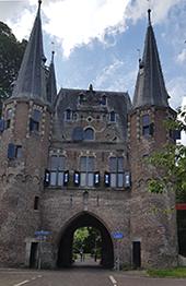 Broederpoort das älteste Stadttor von Kampen