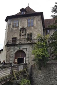 Eingang der Burg von Meersburg am Bodensee