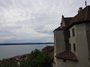 Burg bzw. Altes Schloss mit Bodensee