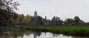 Stadtansicht Kleve mit Schwanenburg