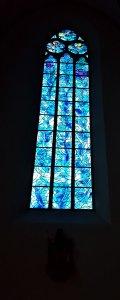 Fenster von Marc Chagall in St. Stephan Mainz
