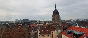 Christuskirche Mainz bei Drachenwolke Geschichten und Legenden & Sagen vom Rhein