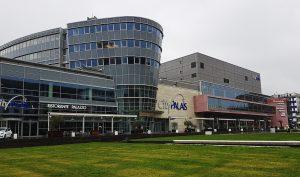 CityPalais in Duisburg am Rhein / Duisburg Industriekultur
