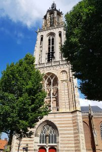 Portal der Cunera Kirche in Rhenen am Rhein