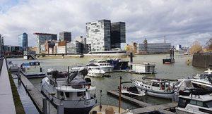 Düsseldorf mit Medienhafen