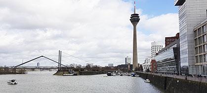 Rheinturm / Fernsehturm von Düsseldorf