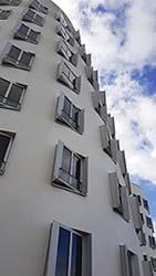 Gehry Bau im Medienhafen von Düsseldorf