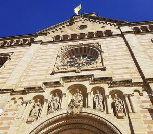 Eingangsportal Dom zu Speyer