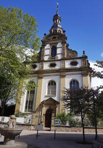 Evangelische lutherische protestantische Dreifaltigkeitskirche in Speyer
