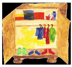 Packliste für Sommerurlaub - Kleiderschrank