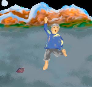 Sage vom Bodensee - der alte Mann, der über den Bodensee lief