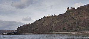 Burg Liebenstein und Sterrenberg, auch die feindlichen Brüder genannt