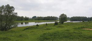 Ausflugstipp Fort Pannerden, Flusslandschaft bei Fort Pannerden / de Waal