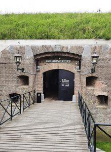 Eingang von Fort Pannerden