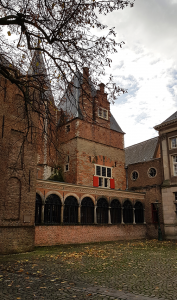 Leiden aktuell : Gravensteen ehemals Gefängnis jetzt Verwaltungsgebäude der Universität Leiden