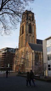 Sint Laurens Kirche in Rotterdam bei Drachenwolke Geschichten