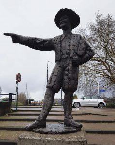 Hamel Denkmal in Gorinchem an der Waal /Rhein