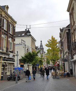 Lange Hezelstraat im Zentrum von Nijmegen / Nimwegen