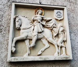 Hildegard von Bingen am Rhein bei Drachenwolke Geschichten und Infos, Sagen und Legenden rund um den Rhein