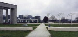 Garten der Erinnerung beim Innenhafen / Duisburg Industriekultur