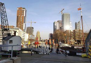 Alter Hafen in Rotterdam bei Drachenwolke Geschichten