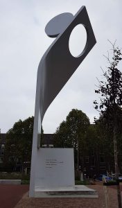 Joris Evens Denkmal in Nijmegen / Nimwegen