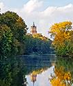 Schwanenburg in Kleve im Widget